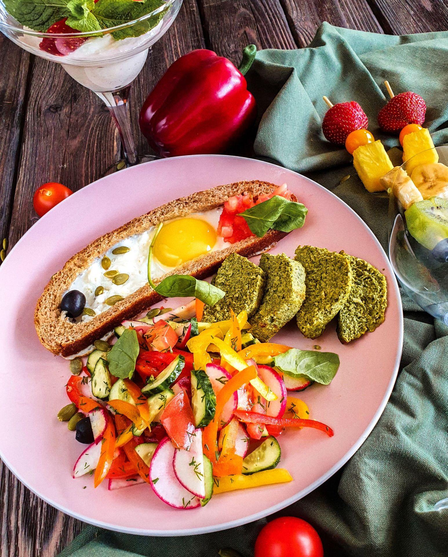 Завтрак №3 правильное питание нутрициологи Pinzeria by Bontempi Итальянский ресторан Волгоград пицца заказать